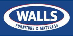 Walls Furniture & Mattress Logo